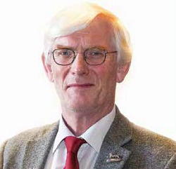 head shot of Councillor Alan Waters, leader of the council