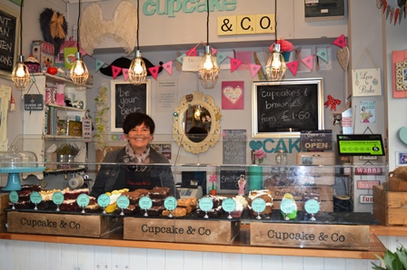Cupcake and Co market stall