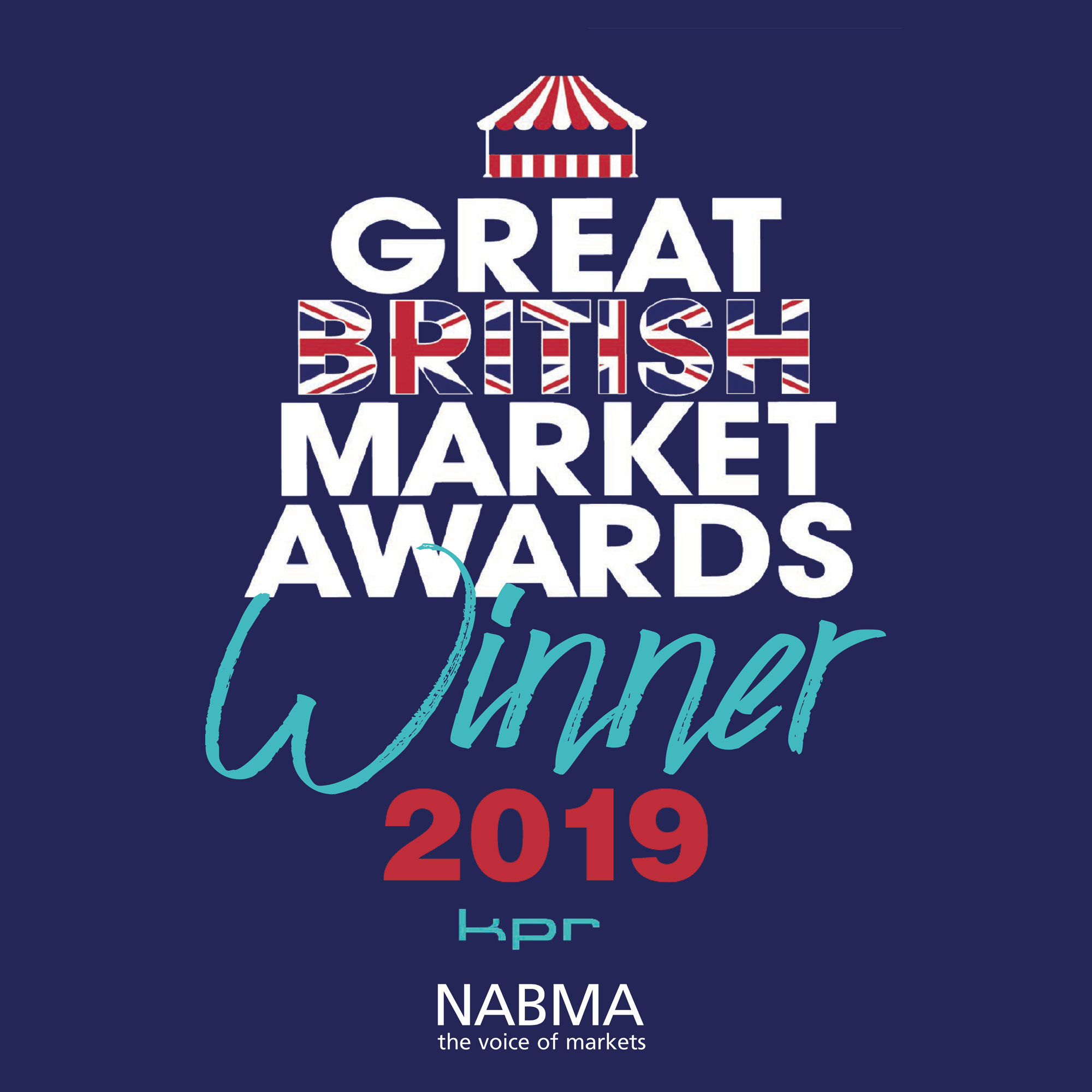 Winner of the British Market Award 2019