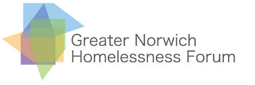 Greater Norwich Homelessness logo.