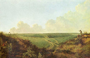 1. A view across Mousehold Heath, c1820, by John Crome.