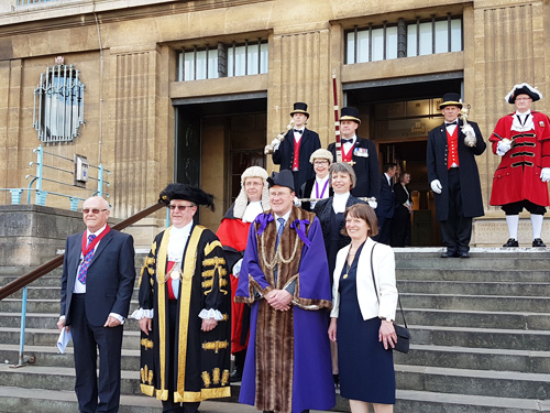 New Lord Mayor and Sheriff