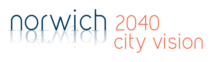 Norwich 2040 City Vision logo